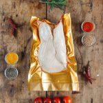 Hízott kacsamáj arany-ezüst vákuum csomagolásban