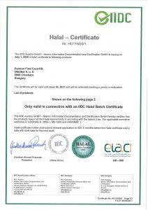 Halal-Certificate Pannon Fine Food_AT_EN_20_1